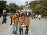 Kamakura New Year's Day: A New Year's Day outing to Kamakura, a town near Tokyo famous for its shrines and temples.