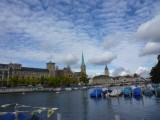 Zurich: Four nights in Zurich for a business trip, including a touristy weekend at the start.