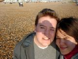 Brighton Again: [Saturday 5th April 2003] Another trip to Brighton to buy Vegetarian Shoes.
