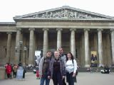 British Museum and Abeno: [Saturday 11th May 2002] Me, Simon and friends at the British Museum, and Abeno, a Japanese restaurant just around the corner. Taken the day my second digital camera met its tragic end.