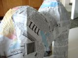 Making a Camel: An evening spent fulfilling a sudden urge to construct a camel via the medium of papier mache.