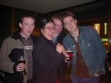 Night out in London: [Saturday 25th November 2000] First boozy antics with new camera, on a night out with Gav, Chie and others.