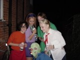 Stanhope Halloween 2000: The third (and perhaps final?) scandalous party at Stanhope Road. Perhaps the most rife with scandal to date. These pictures are mostly taken by other people, as I didn't have a camera myself at the time.