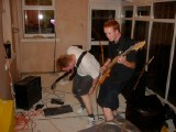 Jam at Tom's House: Me, Rob and Tom jamming at Tom's house.
