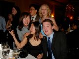 Junchan's Graduation: [Thursday 17th December 2002] Junchan's graduation ceremony for one of her Cordon Bleu courses, held in Claridge's.