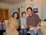 Nozaki Sensei's Wine Evening: [Saturday 8th February 2003] An evening spent drinking some really excellent wines, and eating wonderful Japanese food, in the comfort of Nozaki Sensei's home.
