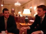 RAF Club with Ian: A trip to the RAF Club with Rob's friend Ian.