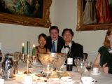 Chie's Office Party: [Saturday 17th January 2004] Chie's company annual party thing, held at the rather nice Wentworth Golf Club.
