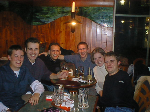 Softel Christmas Party 1999: Two nights in Brugges for our annual Christmas party.