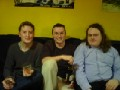 Tim, Jon and me: [Tuesday 23rd January 2001] A brief reunion of three friends who hadn't seen eachother for over a year and a half...